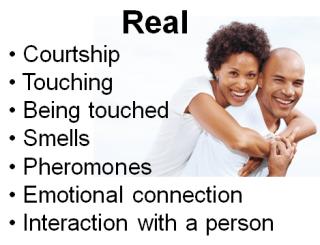 Ce sex real implică